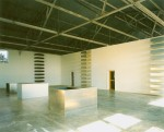 •Donald Judd, Interior of North East Gallery and Living quarters of the East Building, The Block (La Mansana de Chinati), The Judd Foundation, Marfa, Texas.